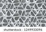 Geometric Silver Frame Module...