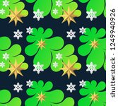 seamless pattern decorative... | Shutterstock .eps vector #1249940926