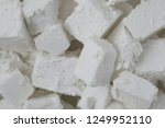 fresh tasty feta cheese... | Shutterstock . vector #1249952110