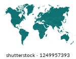 political world map vector... | Shutterstock .eps vector #1249957393