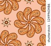 paisley seamless pattern....   Shutterstock .eps vector #1249963486