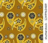 paisley seamless pattern....   Shutterstock .eps vector #1249963489