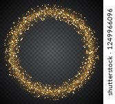 bright festive frame of glowing ... | Shutterstock .eps vector #1249966096