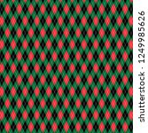 red green black christmas... | Shutterstock .eps vector #1249985626
