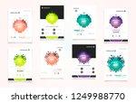 abstract vector business... | Shutterstock .eps vector #1249988770