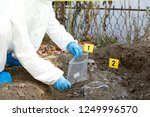 crime scene investigation   Shutterstock . vector #1249996570