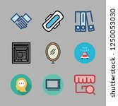 man icon set. vector set about...   Shutterstock .eps vector #1250053030