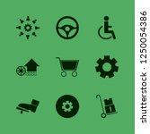 wheel icon. wheel vector icons... | Shutterstock .eps vector #1250054386