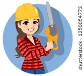 beautiful professional young... | Shutterstock .eps vector #1250054773