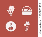 ripe icon. ripe vector icons... | Shutterstock .eps vector #1250061493