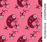 paisley seamless pattern....   Shutterstock .eps vector #1250096266