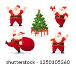 cartoon vector illustrations of ... | Shutterstock .eps vector #1250105260