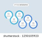 business infographic template...   Shutterstock .eps vector #1250105923