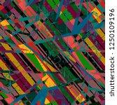 multicolor urban seamless... | Shutterstock .eps vector #1250109196