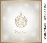 new year card vector... | Shutterstock .eps vector #1250115550