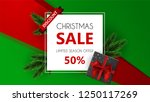 christmas sale  special offer ... | Shutterstock .eps vector #1250117269
