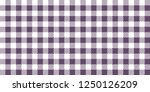 Purple And White Woven Gingham...