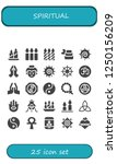 vector icons pack of 25 filled...   Shutterstock .eps vector #1250156209