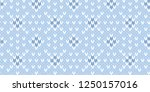 pale blue and white traditional ... | Shutterstock .eps vector #1250157016