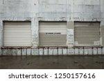 Three Loading Dock Garage Door...