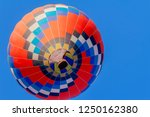 the colorful hot air balloons... | Shutterstock . vector #1250162380
