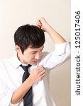 body odor | Shutterstock . vector #125017406