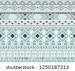 sacral tribal ethnic motifs... | Shutterstock .eps vector #1250187313