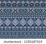 peruvian american indian... | Shutterstock .eps vector #1250187319