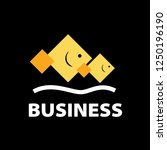 business logo vector. | Shutterstock .eps vector #1250196190