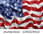 american flag as background ... | Shutterstock . vector #1250225413