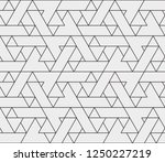 abstract geometric pattern with ... | Shutterstock .eps vector #1250227219