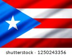 puerto rico modern and... | Shutterstock . vector #1250243356