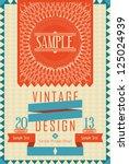 Vintage Design Card