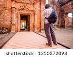 jesuit mission ruins at... | Shutterstock . vector #1250272093