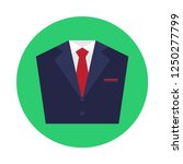 suit flat icon. you can be used ...
