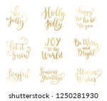 happy new year labels  emblems  ...   Shutterstock .eps vector #1250281930