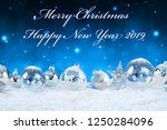 merry christmas and happy new...   Shutterstock . vector #1250284096