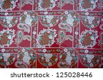 ornamental and colorful india... | Shutterstock . vector #125028446