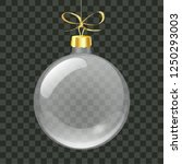 vector realistic transparent...   Shutterstock .eps vector #1250293003