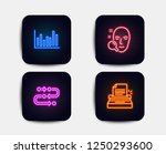 neon set of methodology  face... | Shutterstock .eps vector #1250293600
