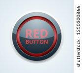 red button label illustration | Shutterstock .eps vector #1250300866