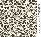 beauty floral patterns on white ... | Shutterstock .eps vector #125030294