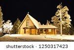 saariselka lapland finland  nov ... | Shutterstock . vector #1250317423