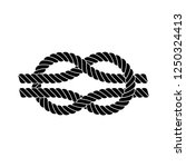 square knot silhouette ...   Shutterstock .eps vector #1250324413