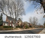 Ontario   Town Street With...