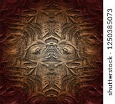 unusual abstract  pattern.... | Shutterstock .eps vector #1250385073