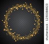 bright festive round frame of...   Shutterstock .eps vector #1250388823