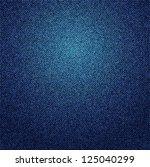 a blue denim background texture.... | Shutterstock . vector #125040299
