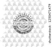 confidential realistic grey... | Shutterstock .eps vector #1250471479