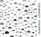 dark blue vector seamless... | Shutterstock .eps vector #1250484553